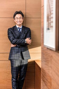 須藤氏 / AMEX(Forbes Japan)