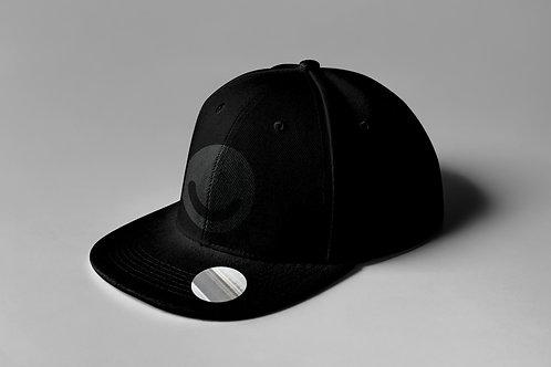 Black/Black Snapback