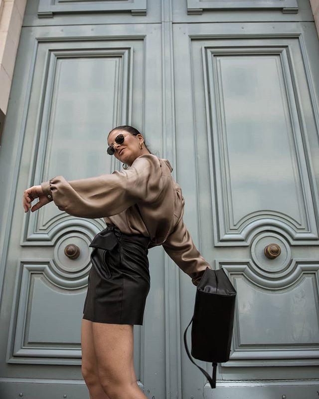 [Leather Pants in Paris in July] and it