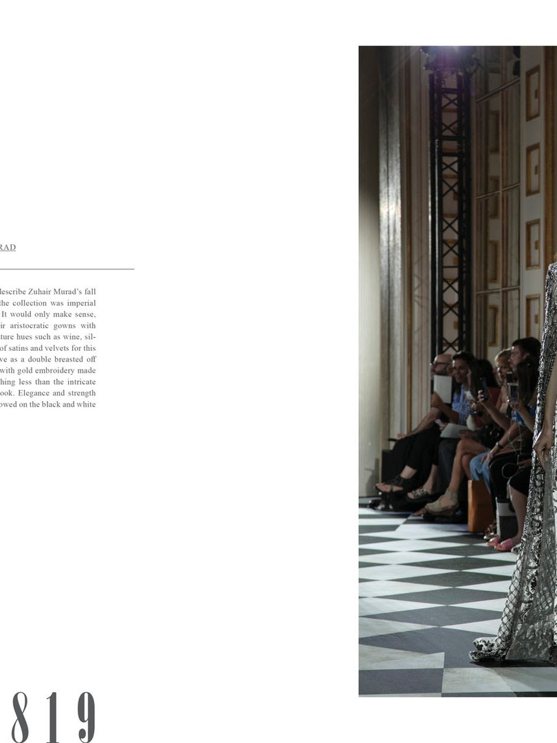 Zuhair Murad in JOYS FASHION BOOK vol.3