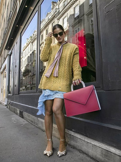 #pfw _Wearing _gerardfirenze knit and _a