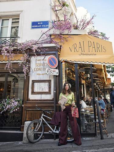 {Vrai Paris} Real Paris ._._Wearing _ger