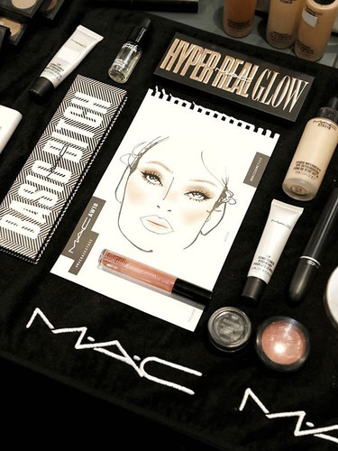 💫#MACBackstage 💫 yesterday #backstage