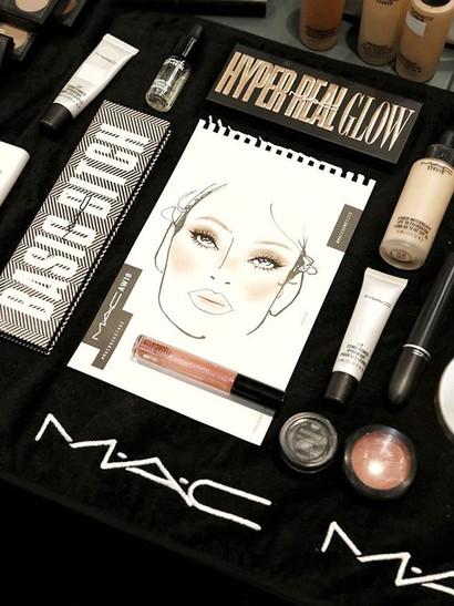 💫#MACBackstage 💫 yesterday #backstage