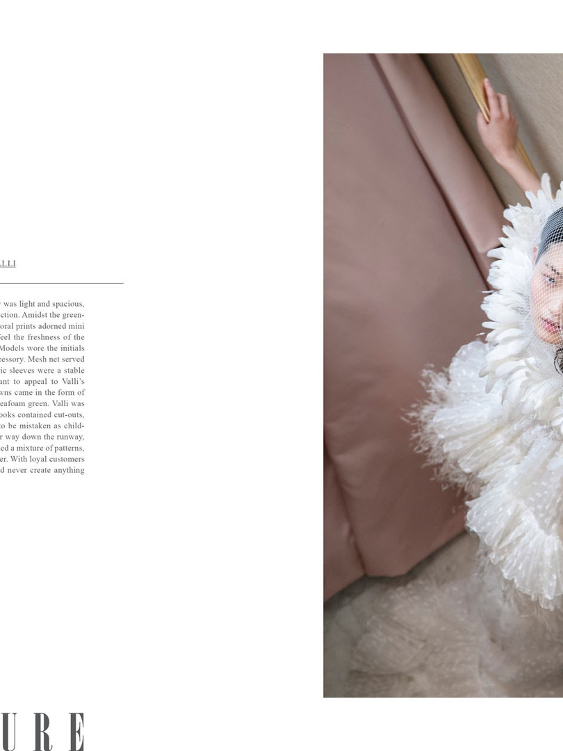 Giambattista Valli in JOYS FASHION BOOK vol.3