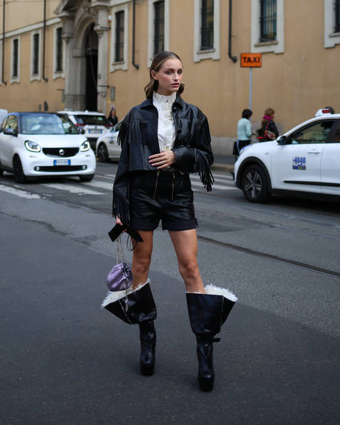 The Best Street Style From Milan Fashion Week SS21