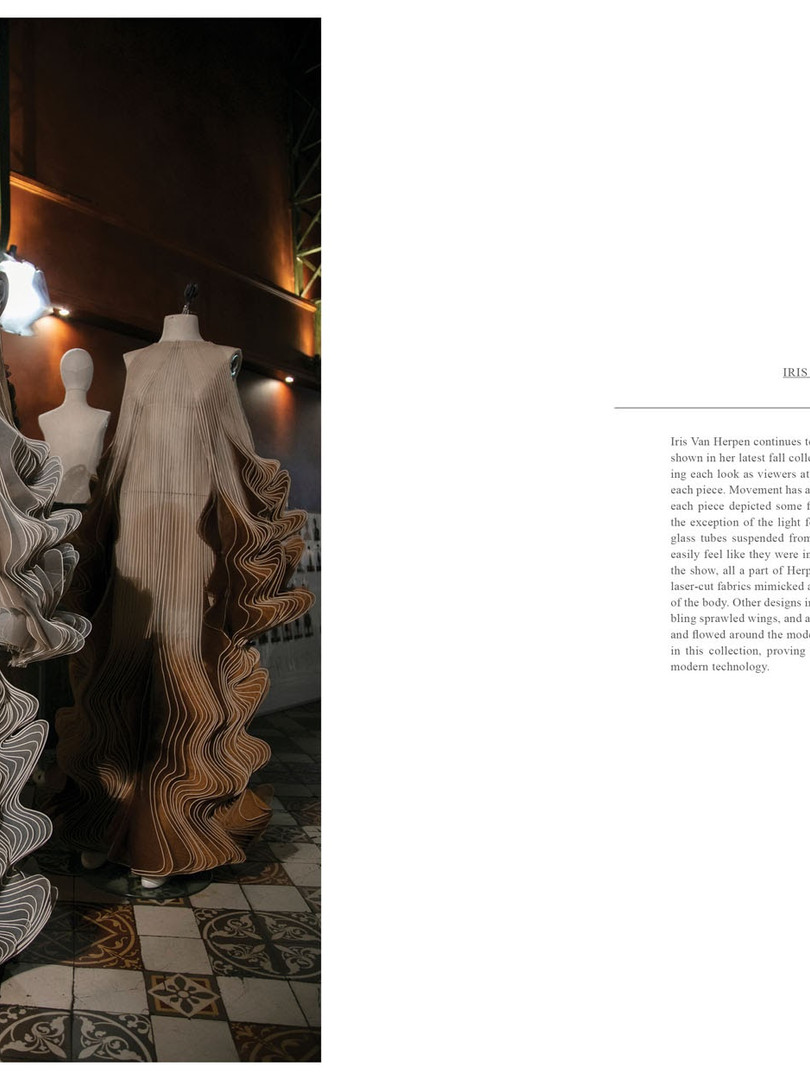 Iris van Herpen in JOYS FASHION BOOK vol.3