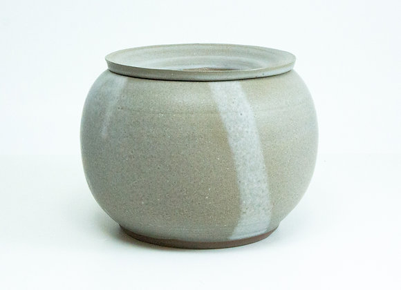 Dove Grey Solid Planter Kit