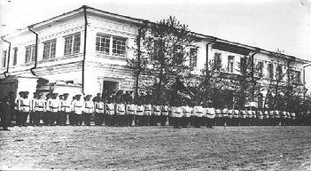 Историческое фото тезникума