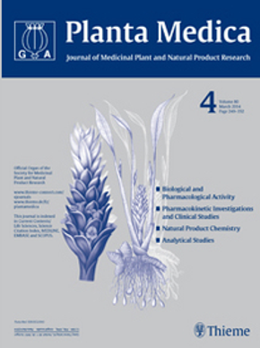 Planta Medica online subscription from 1998