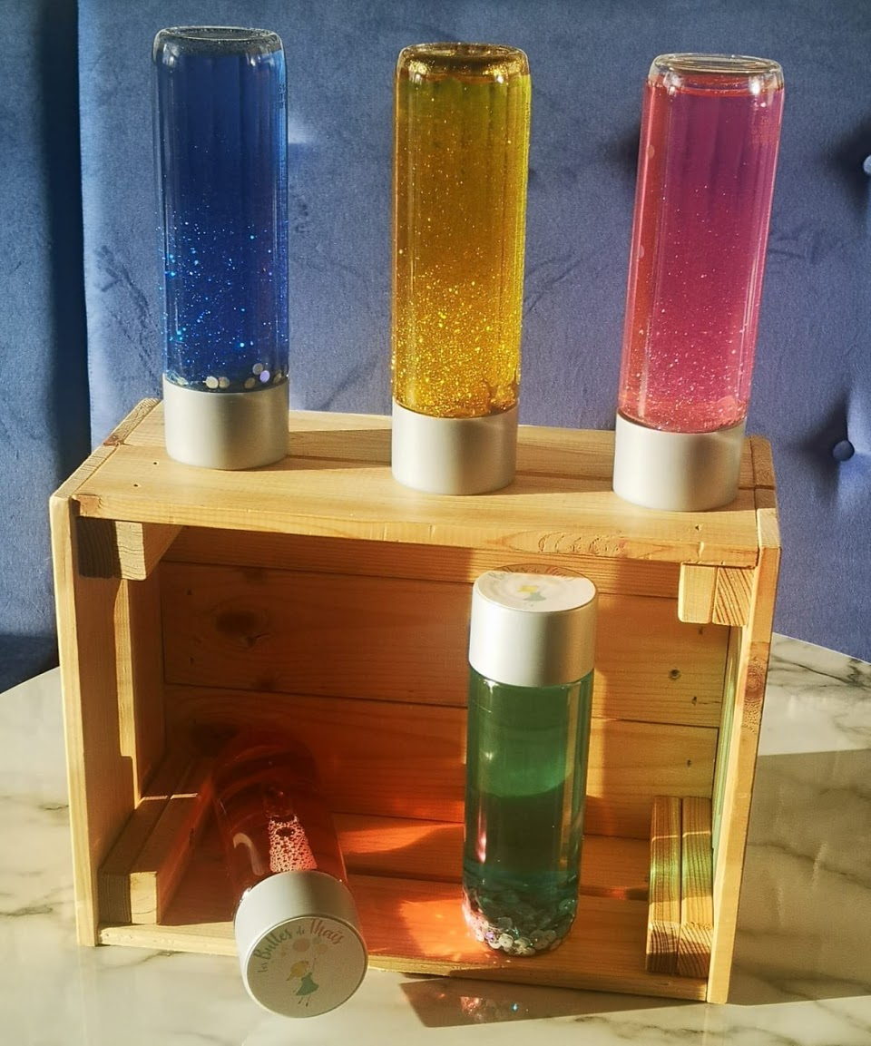 Bouteilles sensorielles / Sensory bottles