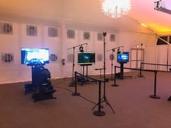 2 Roomscale + Simulator Setup