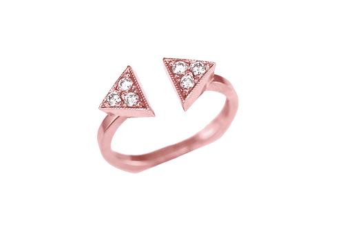 GEO Diamond Strength Ring