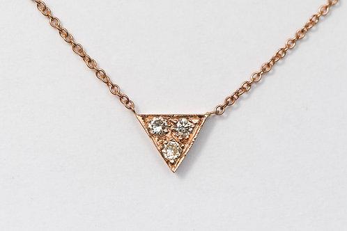 GEO Petite Diamond Strength Necklace