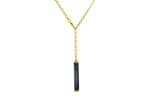 GREEN TOURMALINE LARIAT