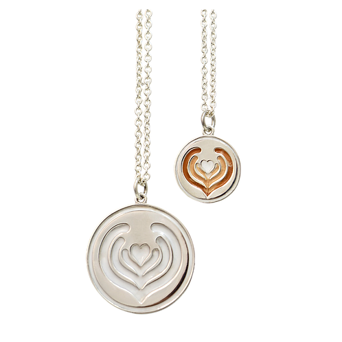 Energy Medallion necklace-Large