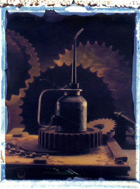 Industrial Oilcan