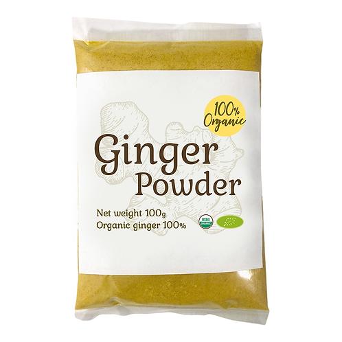 オーガニックジンジャーパウダー100g/Organic Ginger Powder 100g