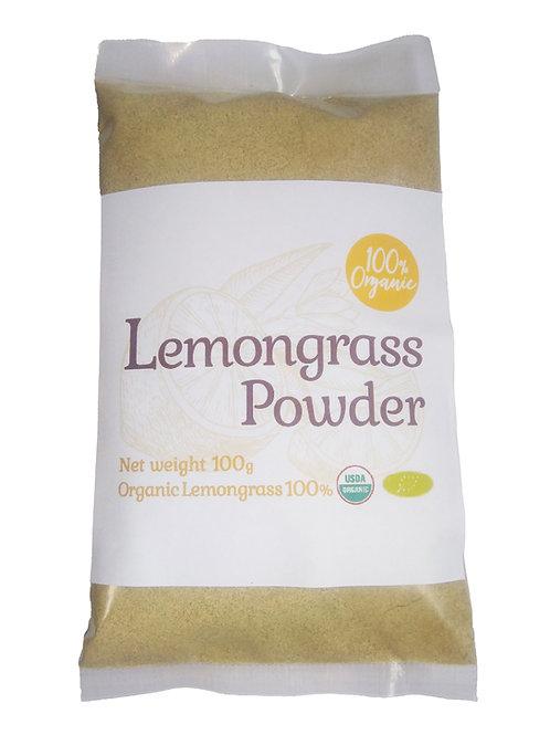 オーガニックレモングラスパウダー100g/Organic Lemongrass Powder 100g