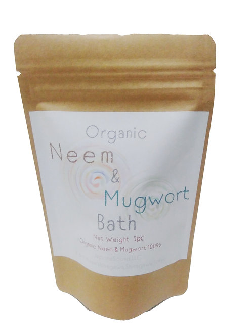 Organic Mugwort & Neem Bath オーガニックよもぎとミラクルニームの入浴剤