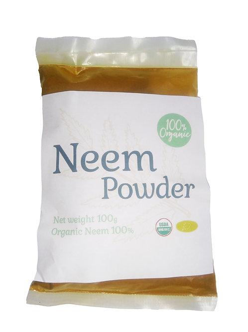 オーガニックニームパウダー100g/Organic Neem Powder 100g