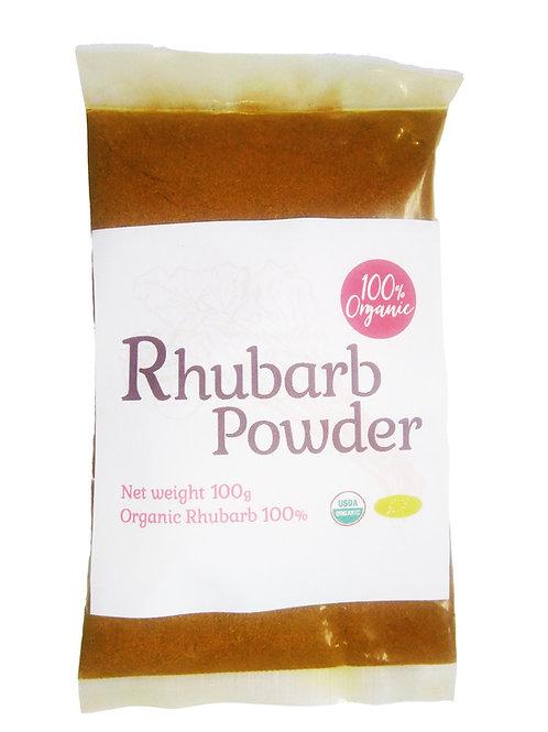 オーガニックルバーブパウダー100g/Organic Rhubarb Powder 100g