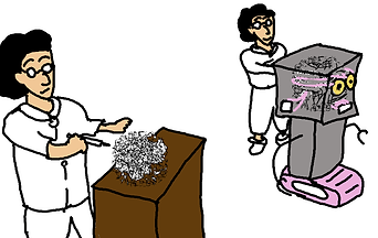 スピントロニクス素子を用いてロボット作成。