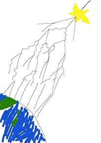 空気シャワーの生成