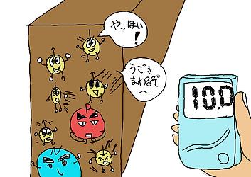 室温での物質内の電子