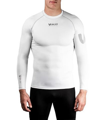 VOCEAN L/S UV Top Silver