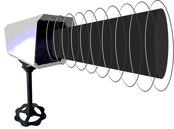 2400W long range acoustic device for brocast long distance