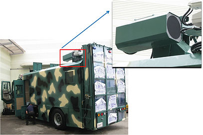 600w lrad, ahd for armored vehicles or warship