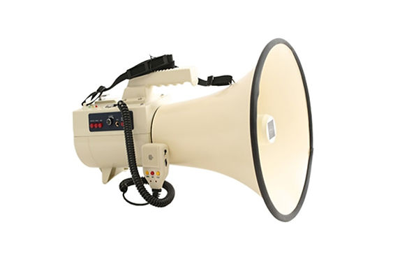 50w multi-functional megaphone with carrying handle