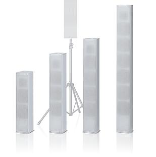 2way type column speakers