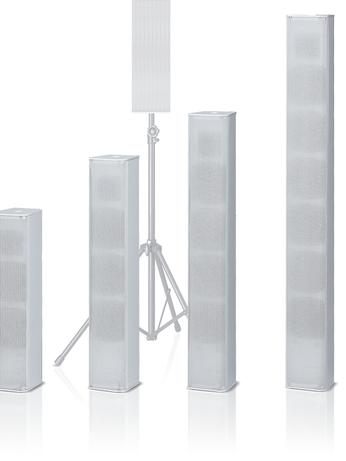 2-way type Column Speakers