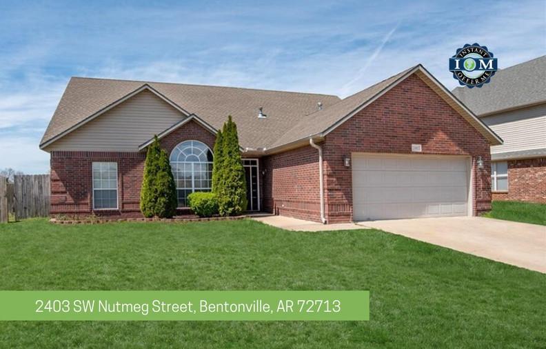 2403 SW Nutmeg Street Bentonville AR 72713