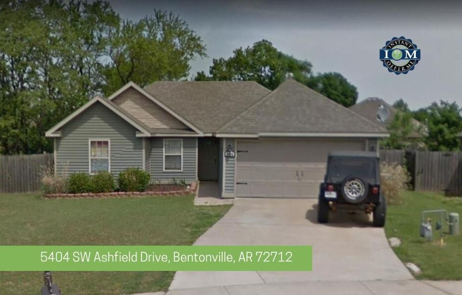 5404 SW Ashfield Drive Bentonville AR 72712