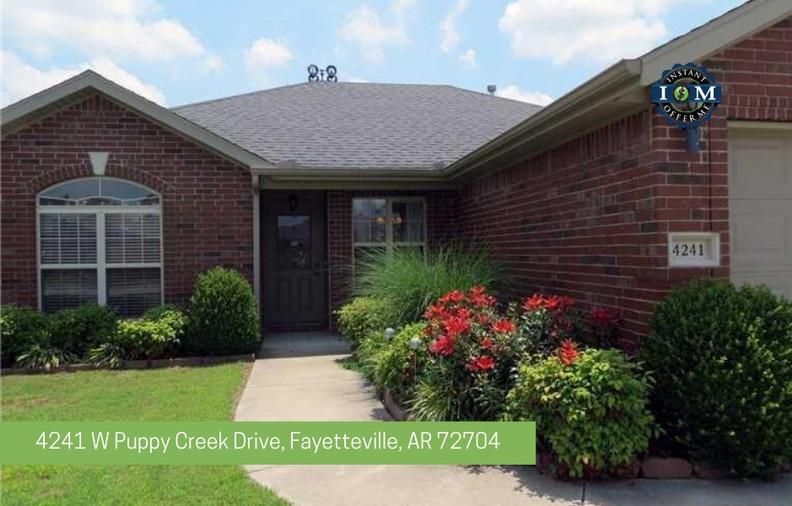 4241 W Puppy Creek Drive Fayetteville AR 72704