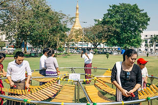 A Public Art in Yangon Art and Heritage