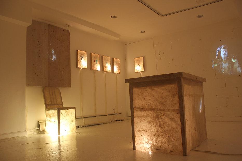 Dining Room Opera, 2014, Video Installat