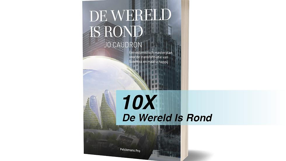 10 x De Wereld Is Rond - Paperback