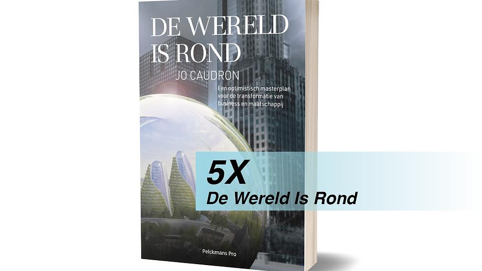 5 x De Wereld Is Rond - Paperback