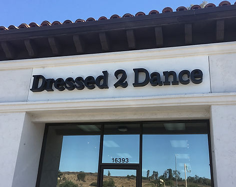 Dressed 2 Dance San Diego dance store