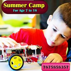 Robot Making Summer Camp Shivrajrobotics