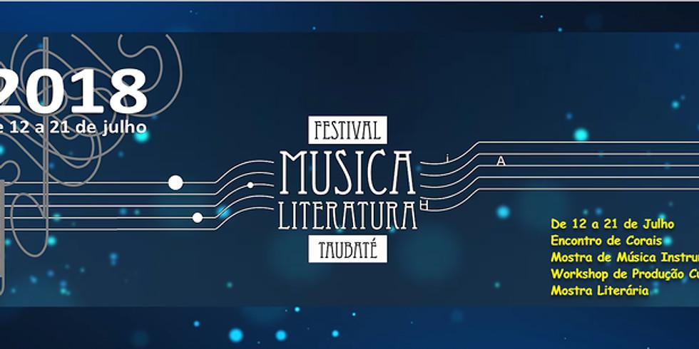 Festival Nacional de Música & Literatura em Taubaté
