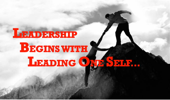 SELF-LEADERSHIP - You need to know the way, to show the way!