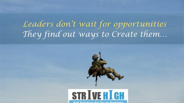 Leadership begins with Leading Oneself !