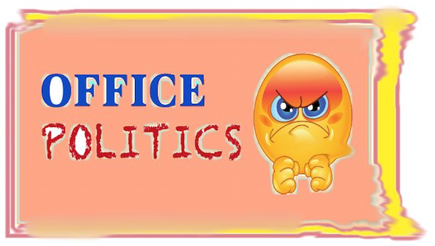 Tired of office politics?