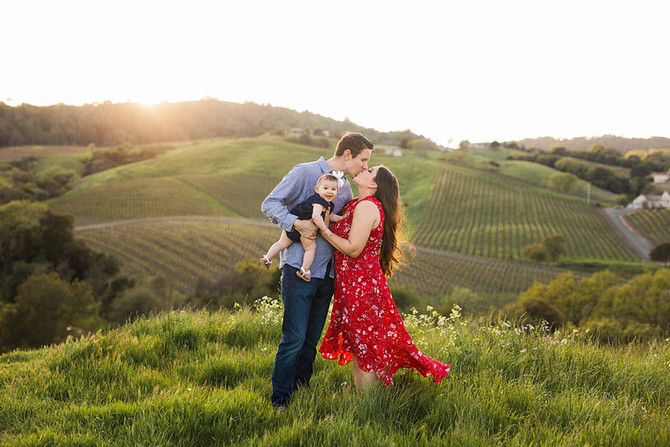 The LaVielle Family | Napa Family Photographer | Kaitlynn Tucker Photography