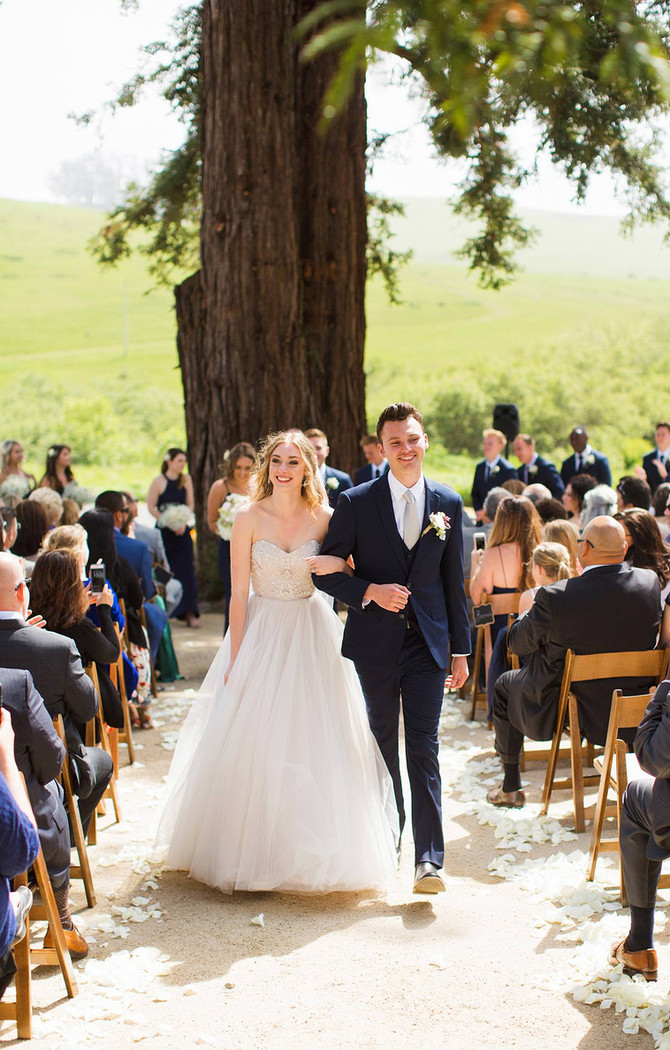 Tessa + Dominic Wedding | Stemple Creek Ranch | Tomales, Ca